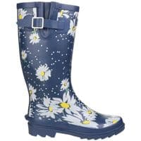 Cotswold Burghley Patterned Wellingtons Daisy